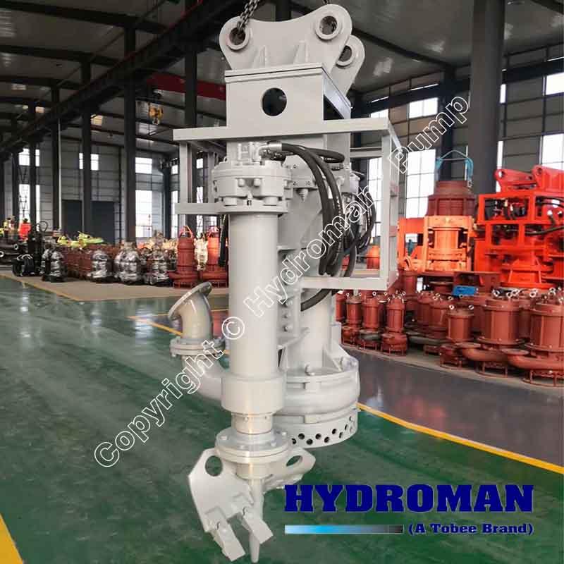 Hydraulic Excavator Mounted DredgePumps
