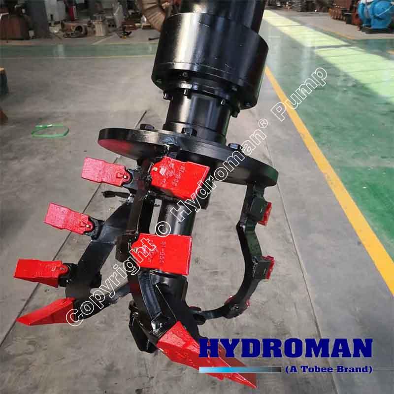 Hydraulic Dredging Cutters, Hydraulic Cutterhead