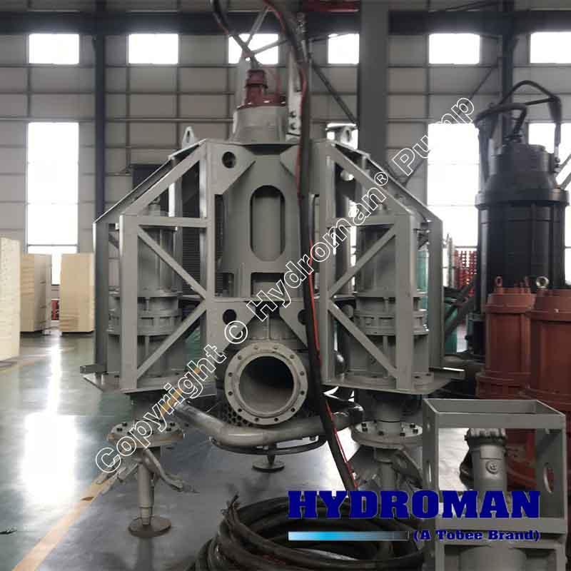 Agitator Submersible Slurry Pump for Sand Dredging