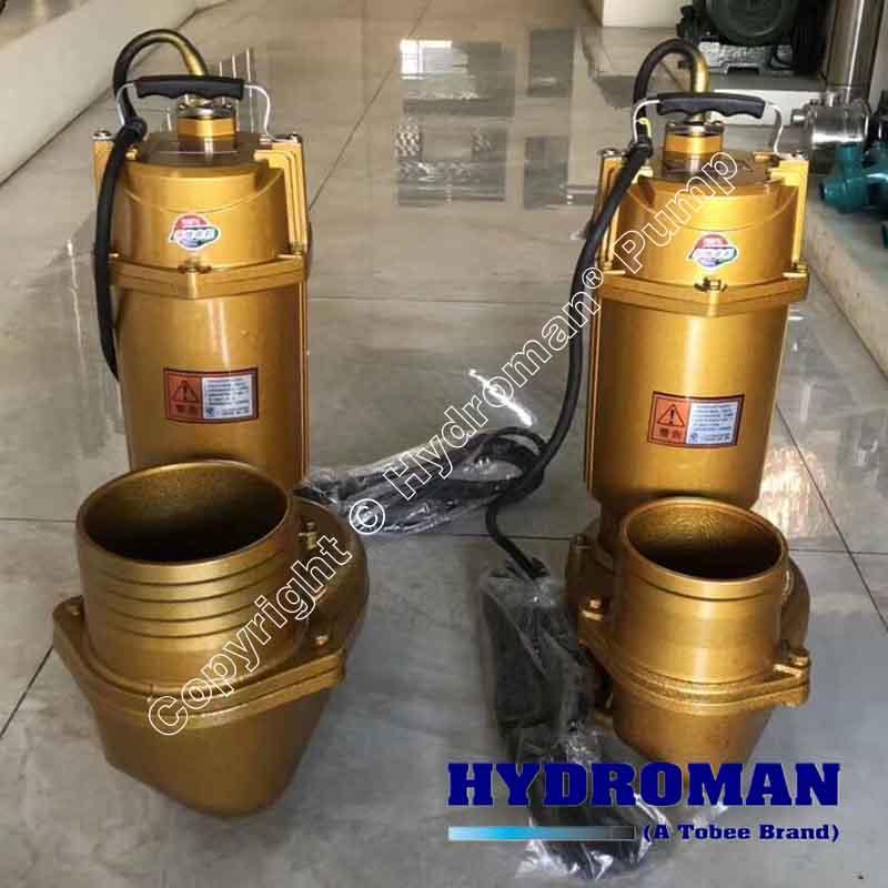 Non-clog Submersible Grinder Pumps