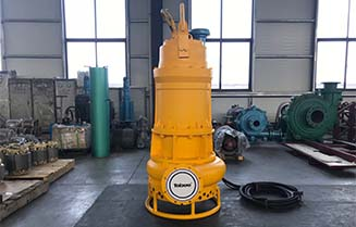Hydroman™ 250TSQ Submersible Sand Pump Headed to India