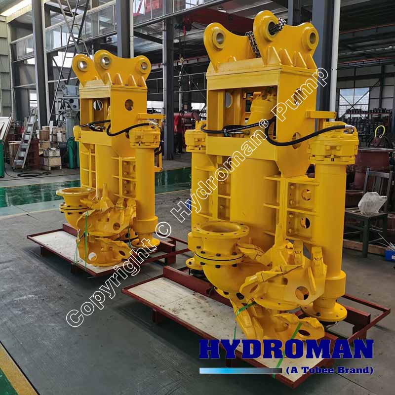 Hydraulic Driven Submersible Sand Pumps