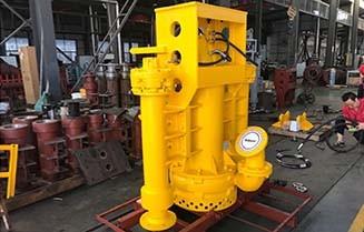 THY85B Hydraulic Dredge Pumps with Side Agitators