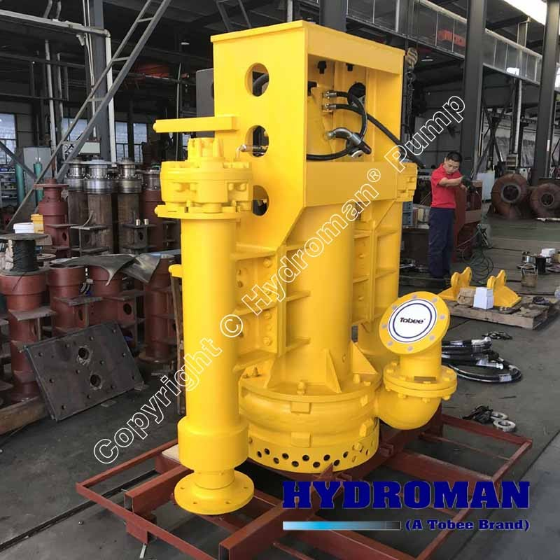 Submersible Dredge Pump Hydraulic Driven