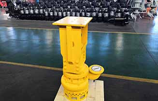 THY24 Excavator hydraulic driven dredge pump