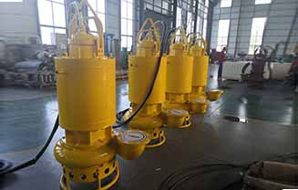 Submersible Sewage Sludge Pump with Cooling Jacket