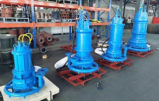 Submersible Dredge Pump with Water Jet Ring