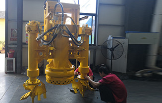 Submersible Dredging Sand Pump with Side Agitators